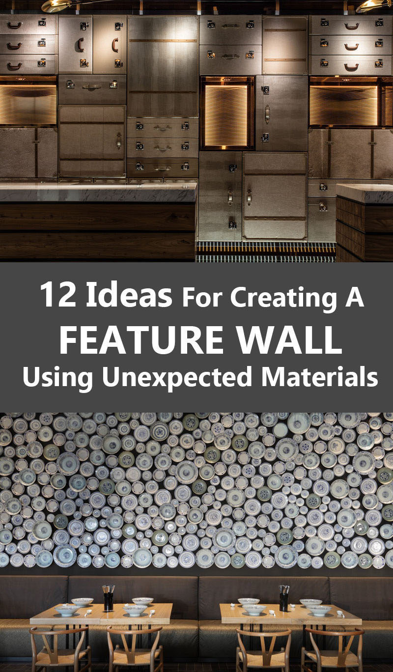 12 Ideas For Creating An Accent Wall Using Unexpected Materials