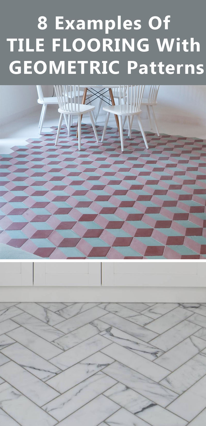 8 Examples Of Tile Flooring With Geometric Patterns