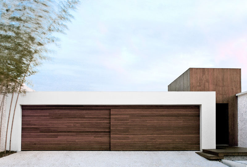 18 inspirational exles of modern garage doors