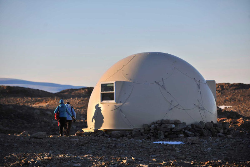 "GLAMPING IN ANTARCTICA // White Desert is a tour company whose mission is to give people an opportunity to see and experience the ""real Antarctica"", by staying in one of 6 sleeping pods."