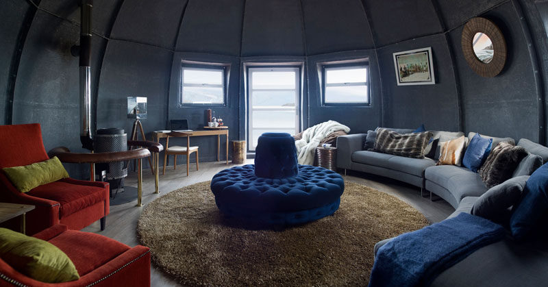 """GLAMPING IN ANTARCTICA // White Desert is a tour company whose mission is to give people an opportunity to see and experience the """"real Antarctica"""", by staying in one of 6 sleeping pods."""