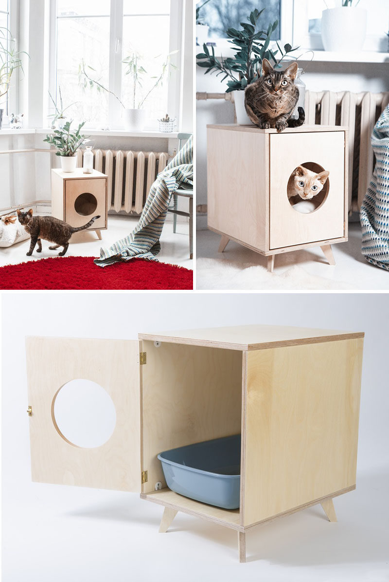 10 Ideas For Hiding Your Cats Litter Box Don T Sacrifice Style