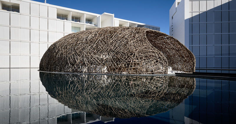 This Restaurant Is Designed Like A Floating Nest
