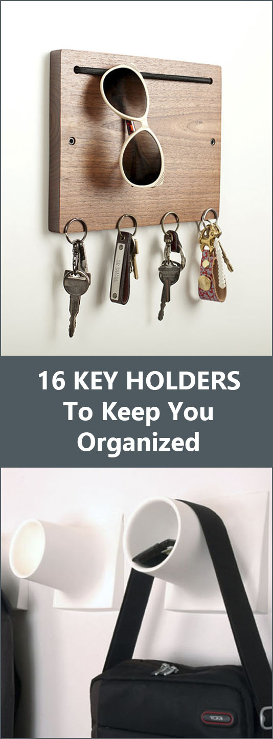16 Key Holders To Keep You Organized //
