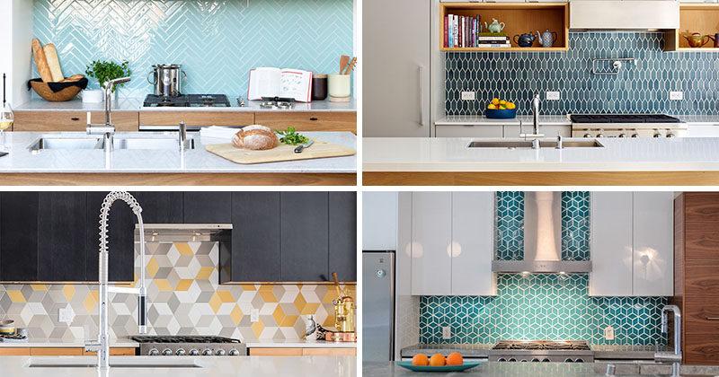 بررسی 8 نمونه کاشی در طراحی داخلی آشپزخانه