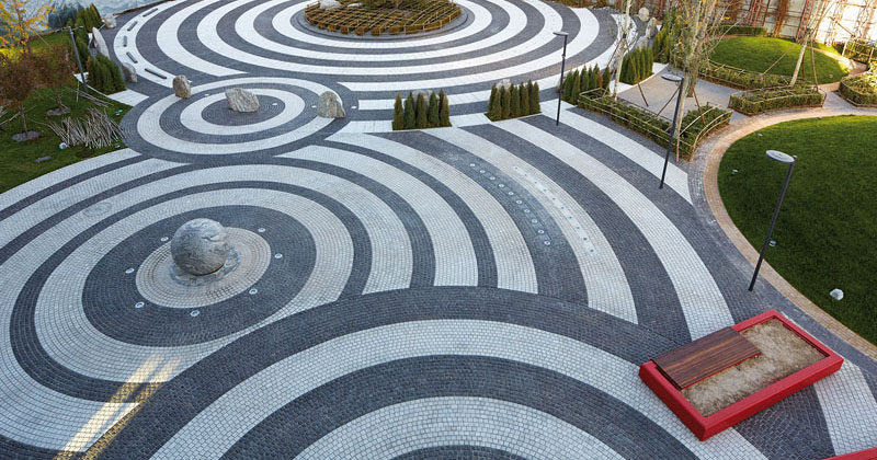 Landscape Design Idea - Get Creative With Pavement