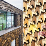 A Creative House Siding Idea – Leaf Inspired Metal Shingles