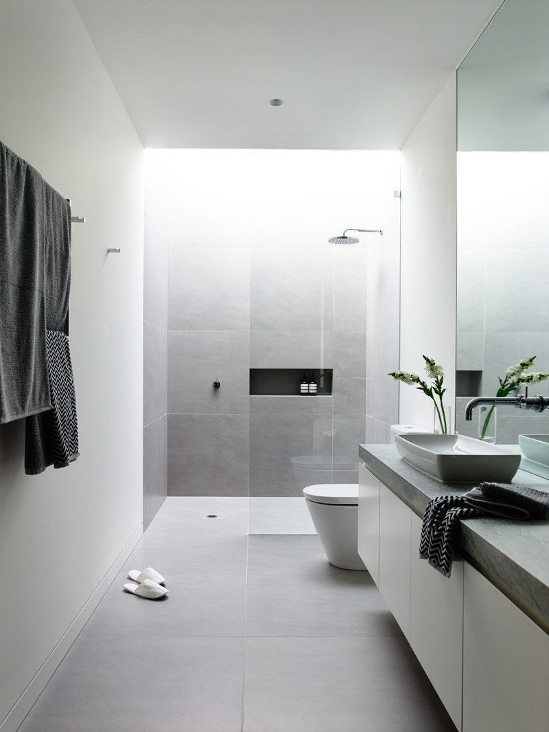 6 Ideas For Creating A Minimalist Bathroom // Donu0027t Over Store
