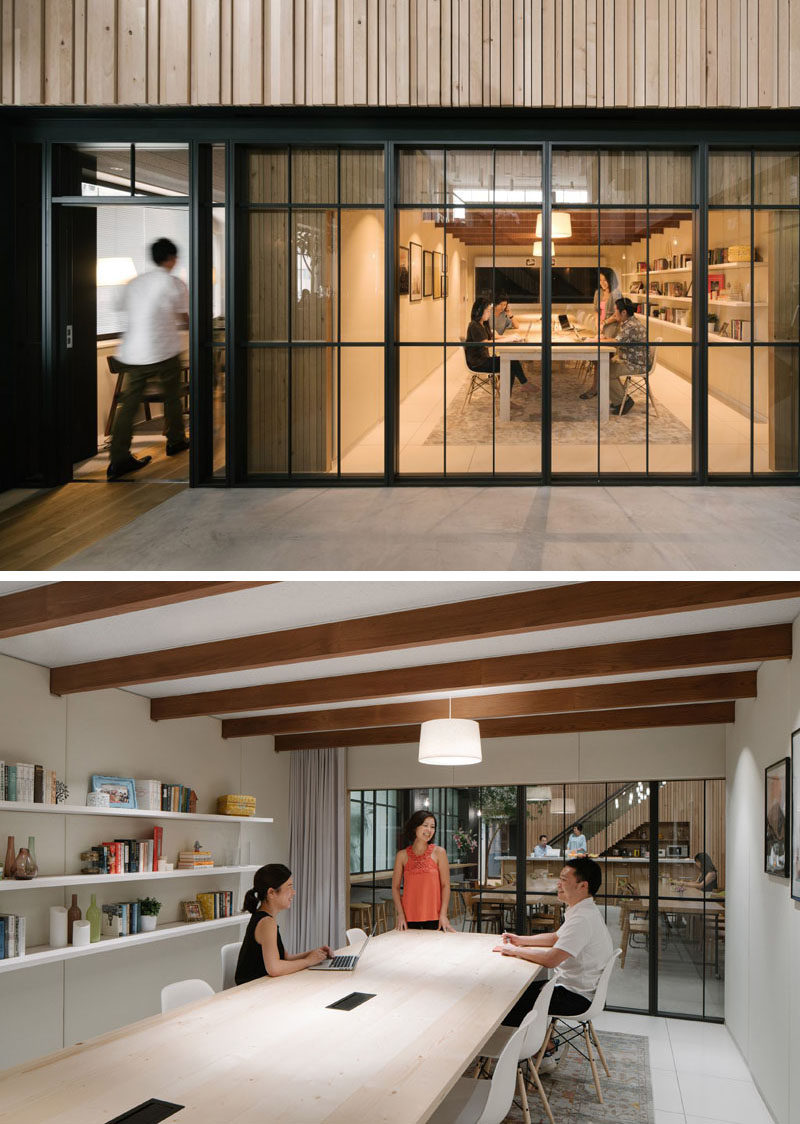 Have a look inside the new Airbnb offices in Tokyo, Japan.