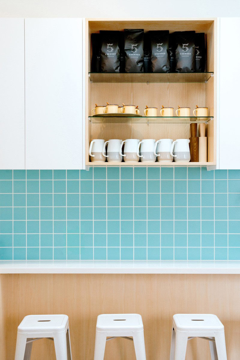 8 Ideas For Introducing Pastels Into Your Interior // Create A Pastel Backsplash --- If you have a kitchen or bathroom chances are you'll also have tiles. Picking pastel colored tiles takes care of protecting your walls and keeps them bright and exciting.