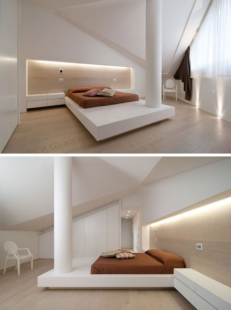 Bedroom Design Idea Place Your Bed On A Raised Platform The Elongated