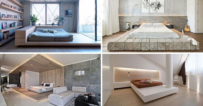 Bedroom Design Idea - Place Your Bed On A Raised Platform