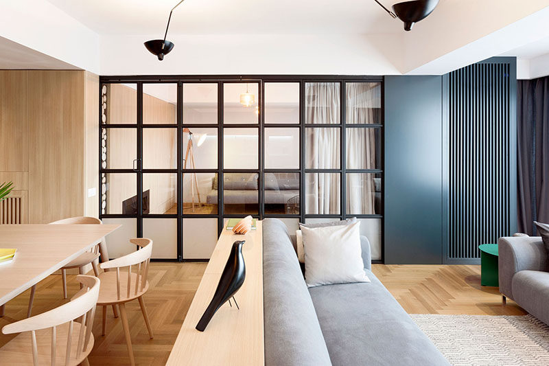 Apartment Interior Design Idea Build A Small Wall As A