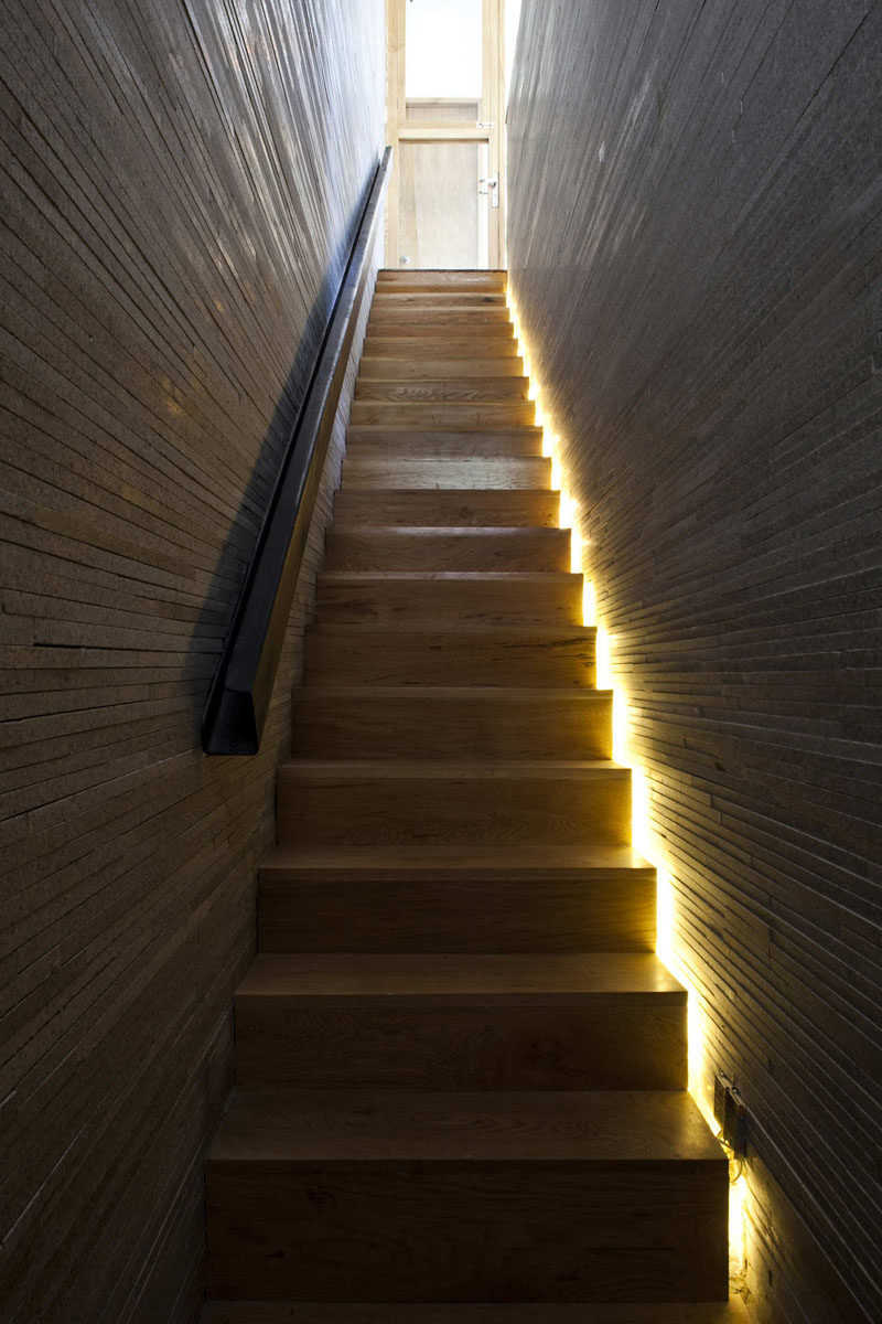 lighting stairs. Indirect Soft Lighting That Either Follows The Line Of Stairs Or Is Included Beside Each Step, Provides Added Safety In Your Home By Making Stair H