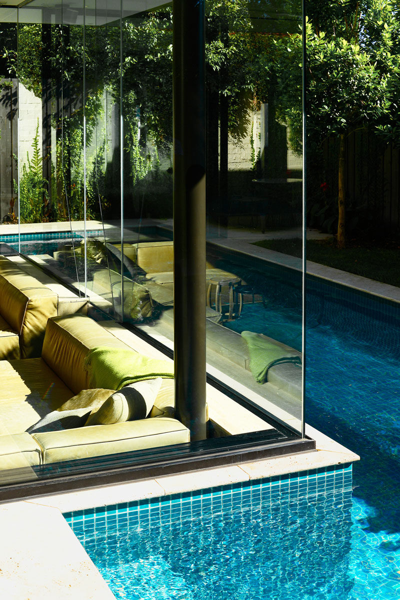 This House Has A Sunken Living Room So People Can Be At