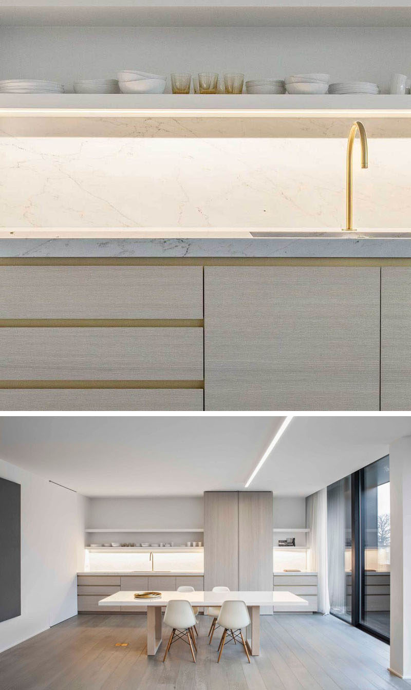 Kitchen Design Idea   Cabinet Hardware Alternatives // Include A Recessed  Groove In The Design