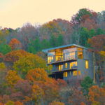 This House On A Hill In Arkansas Emerges From The Trees