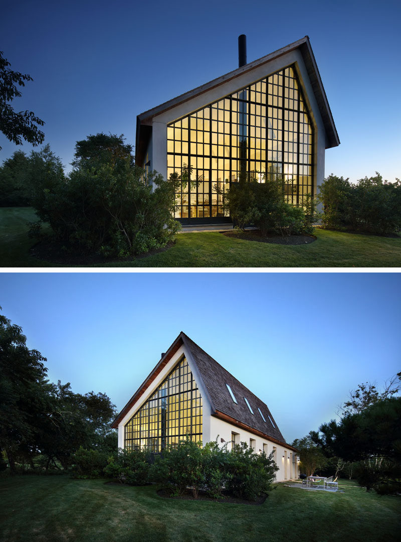 This Guest House In The Hamptons Has A Grid Of Double