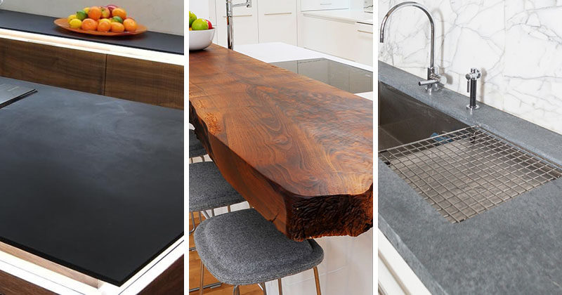 Kitchen Design Idea ? 5 Unconventional Materials You Can Use For A Countertop