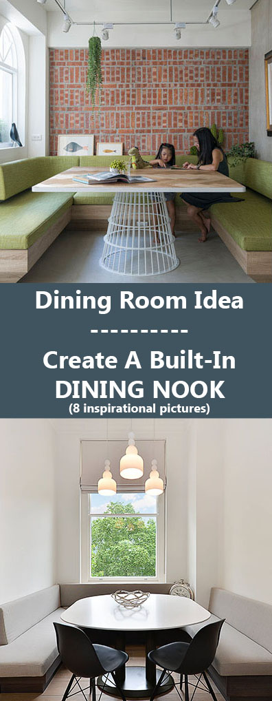 Dining Room Idea - Create A Built-In Dining Nook