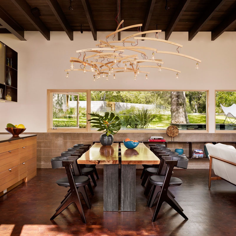 Beautiful 8 Lighting Ideas For Above Your Dining Table // Sculptural    Using Light  Fixtures