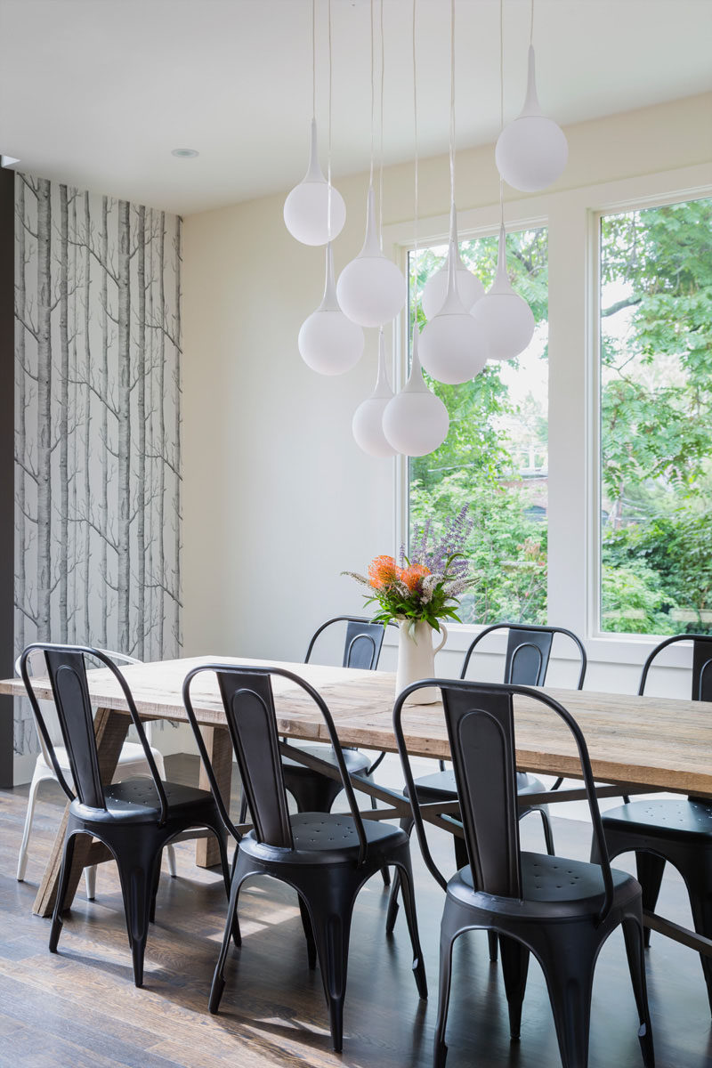8 Lighting Ideas For Above Your Dining Table Cer Hanging A Number