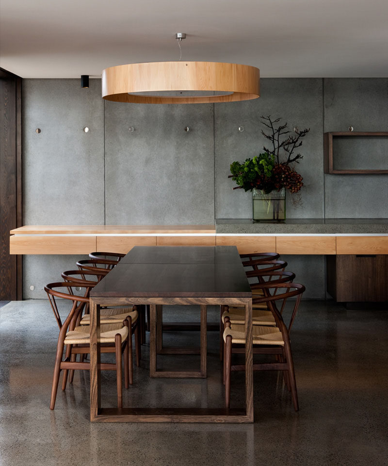 your dining table drum lights also known as halo pendant lights
