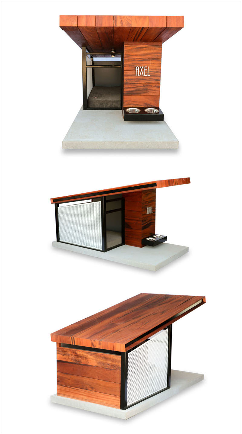 Modern Dog House Designs Of This Modern Dog House Is Designed To Fit Your Home 39 S