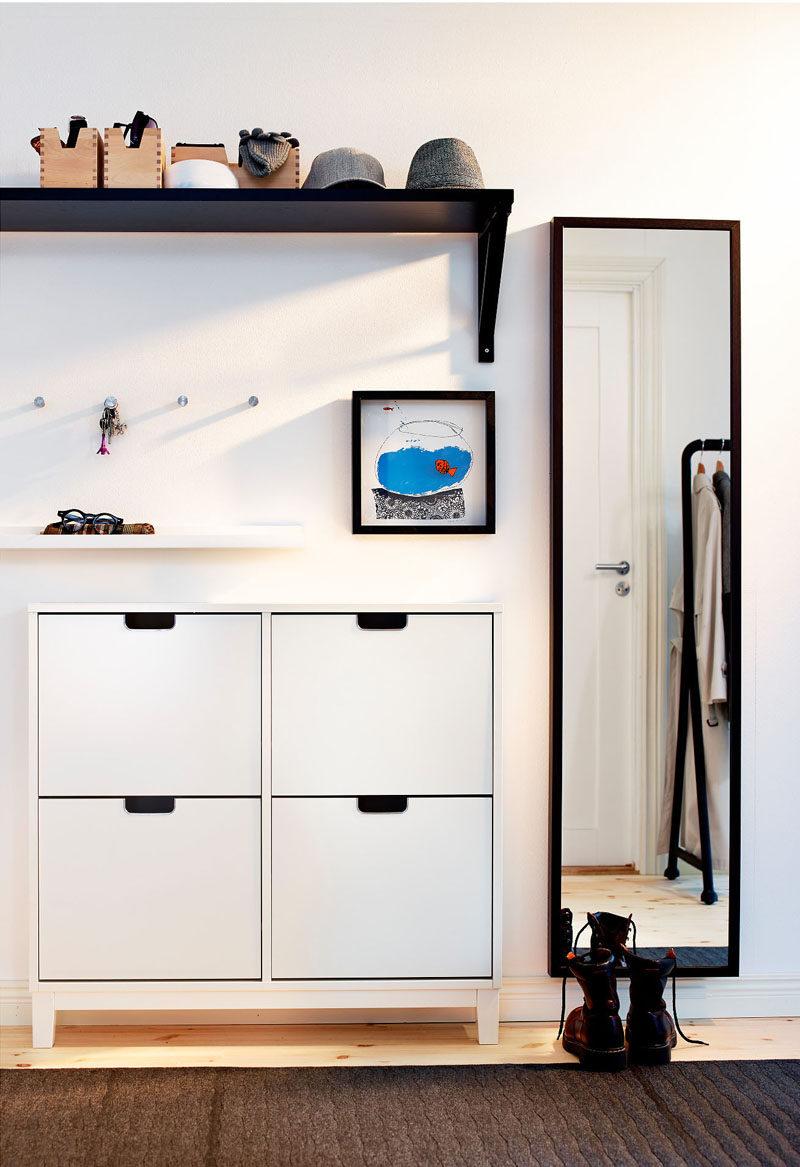 Ý tưởng thiết kế nội thất - Bao gồm gì khi tạo lối vào cuối cùng // Lưu trữ giày - Giữ giày dưới sự kiểm soát với tủ, kệ hoặc thùng, để bạn và khách của bạn không đi qua chúng khi bạn bước vào cửa và giữ lối vào của bạn luôn trông gọn gàng.