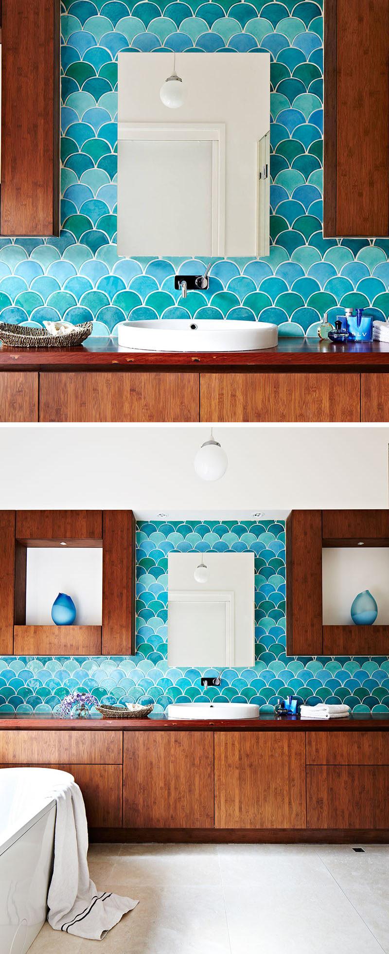Simple  Fish Bathroom On Pinterest  Bathroom Mural Kid Bathrooms And