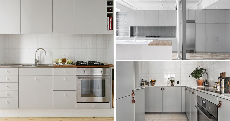 Examples Of Sophisticated Gray Kitchen Cabinets CONTEMPORIST - Tiles to go with a grey kitchen