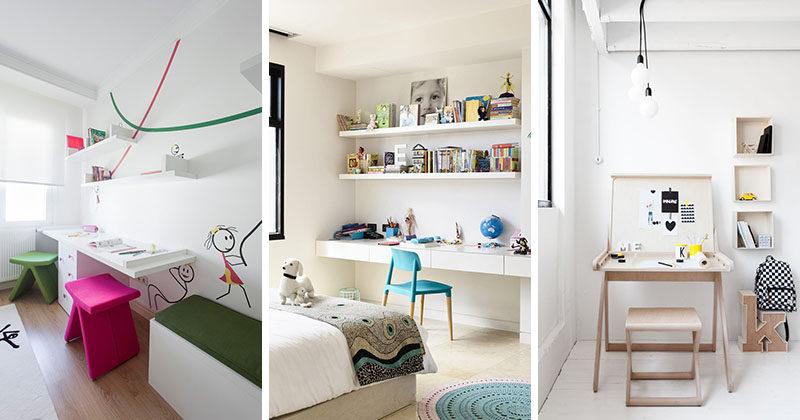 Interior Design Idea - 11 Essentials For Kids Homework Stations