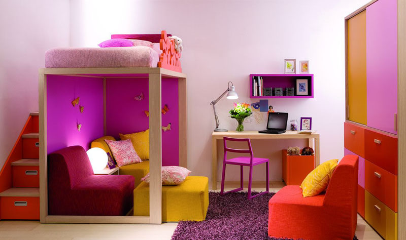 Interior Design Idea - 11 Essentials For Kids Homework Stations // Make it feel like it's theirs -- Doing homework is likely pretty low on a kids priority list but having a space that they like, will make it that much more likely that they'll spend time there willingly.