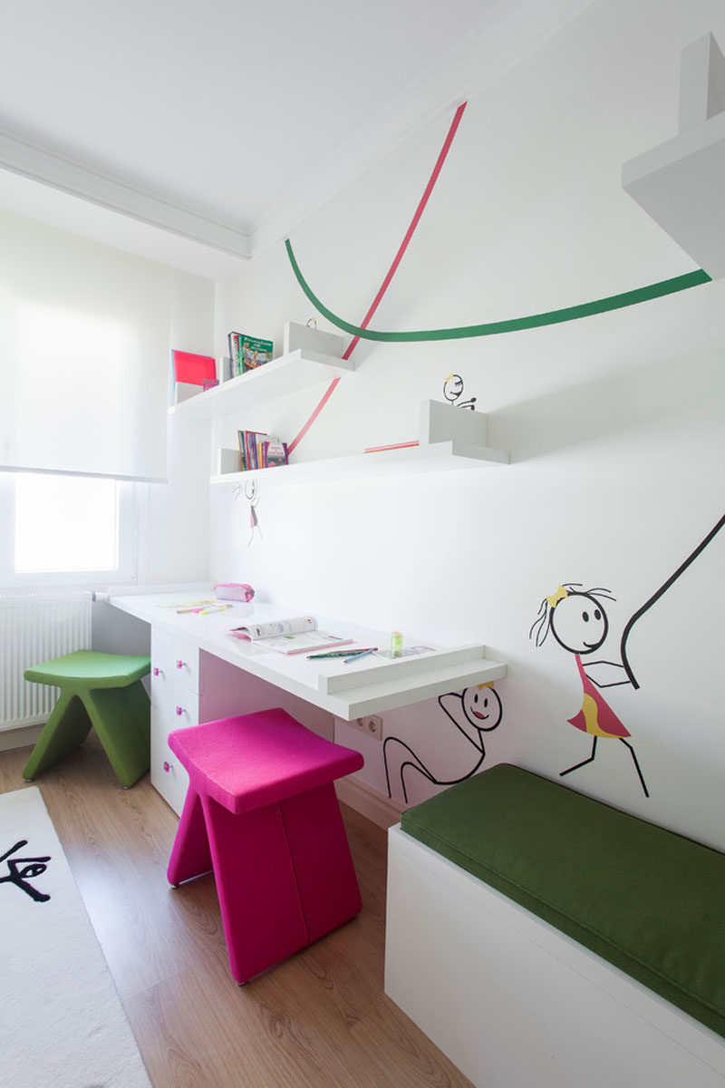 Kids school interior design - Interior Design Idea 11 Essentials For Kids Homework Stations Share The Space