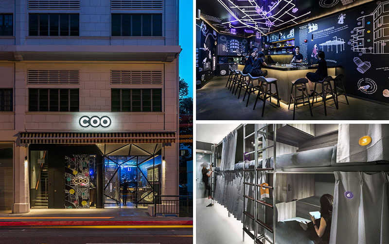 Recently opened in Singapore is COO, a new boutique hostel aimed at millennials, that has a bar, a bistro, an outdoor space, and a social app.