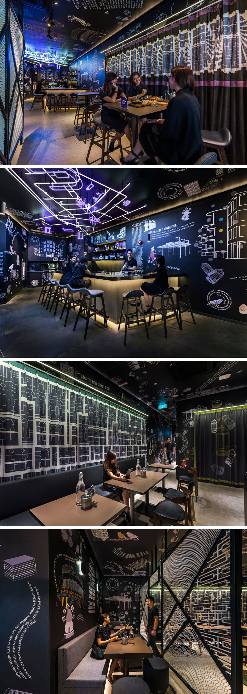 The COO Hostel in Singapore has a bistro and bar, as well as a social app to meet other guests.