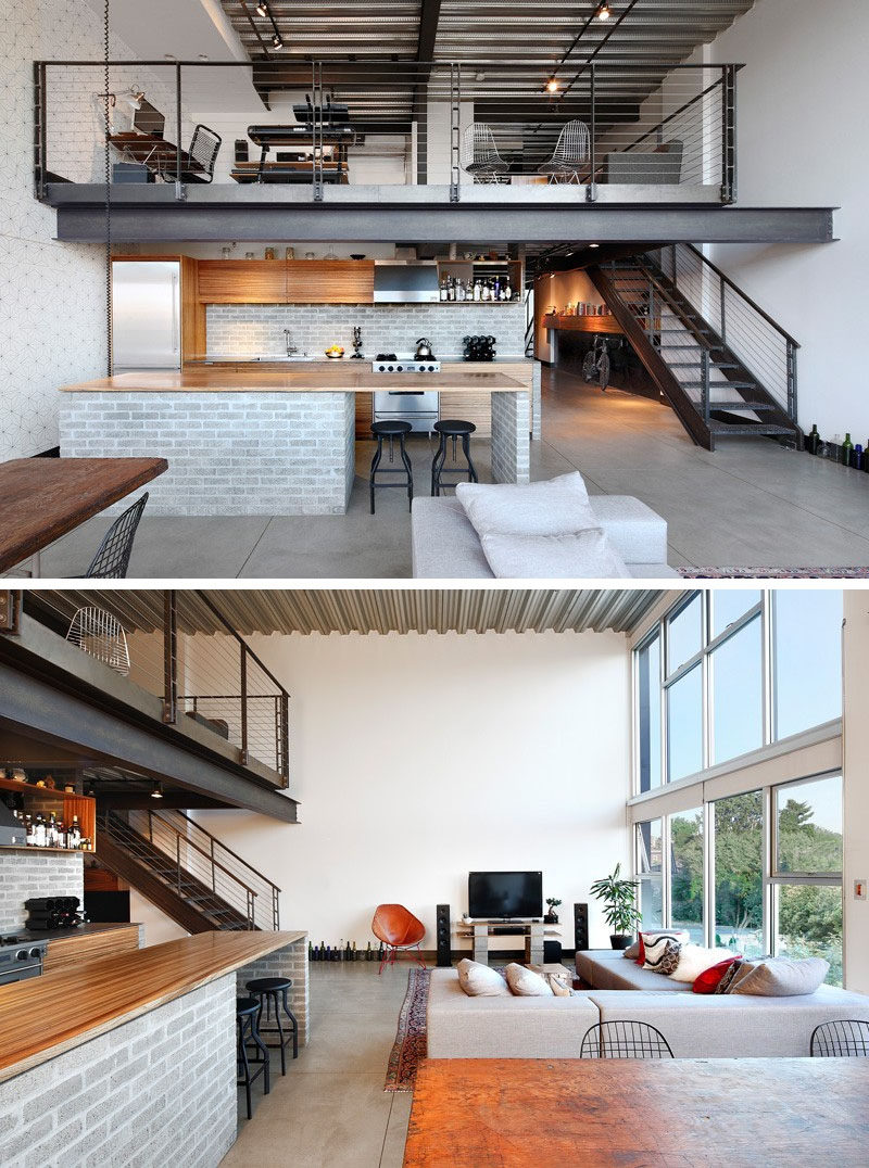SHED Architecture & Design completed the remodel of a loft in the Capitol Hill area of Seattle, Washington.