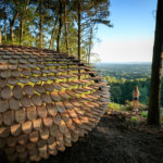 This Sculptural Shelter Is A Place To Enjoy Quiet And Restful Contemplation