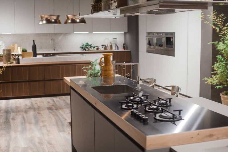 Kitchen Design Idea Integrate Your Cooktop With Counter