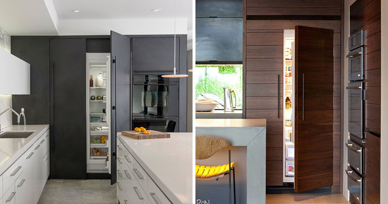 Kitchen Design Idea - 10 Inspirational Examples Of Kitchens With Integrated Fridges