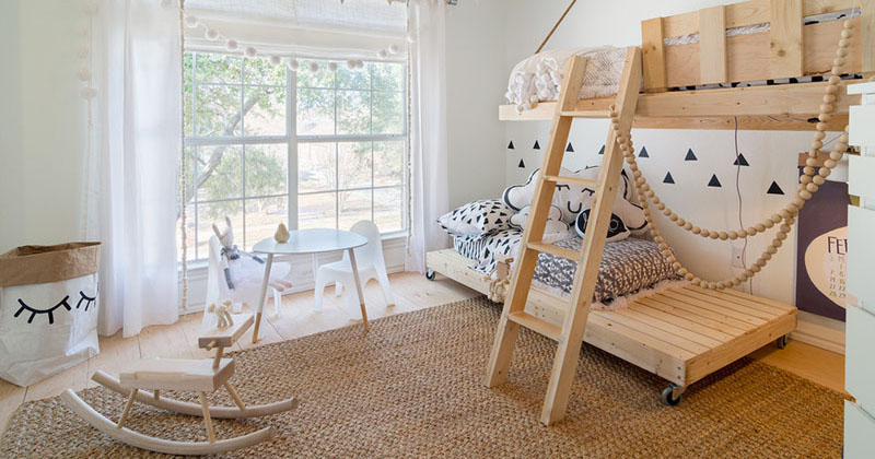 This Kids Room Is Designed To Be Bright And Whimsical