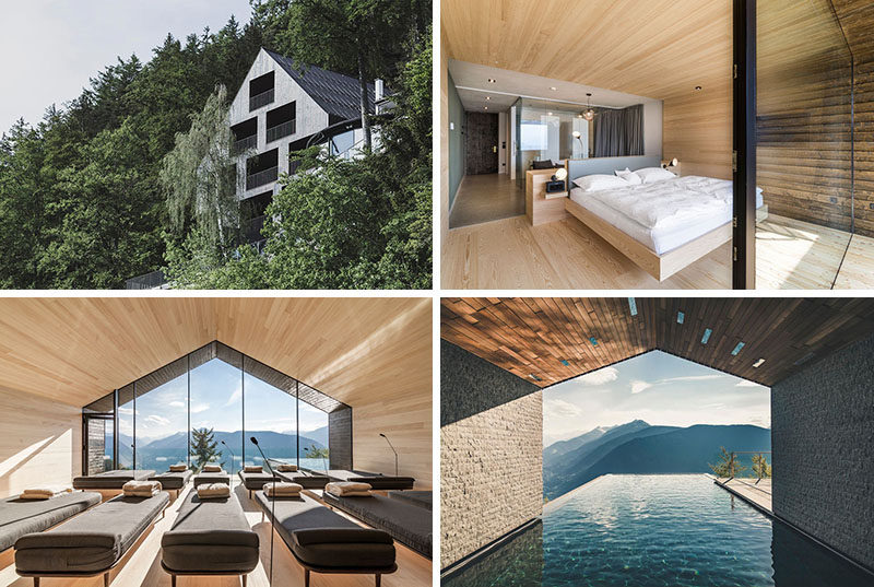 A modern addition arrives at this boutique hotel in the for Design boutique hotel tirol