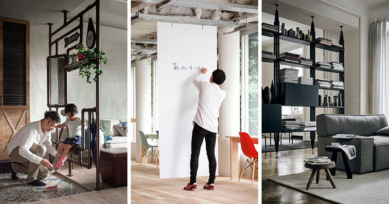Room Divider Ideas - 10 Examples Of Multi-Functional Room Dividers