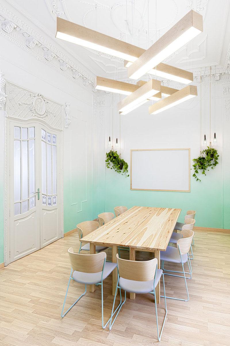 Wall Decor Idea Create An Ombre Look For A Soft Artistic