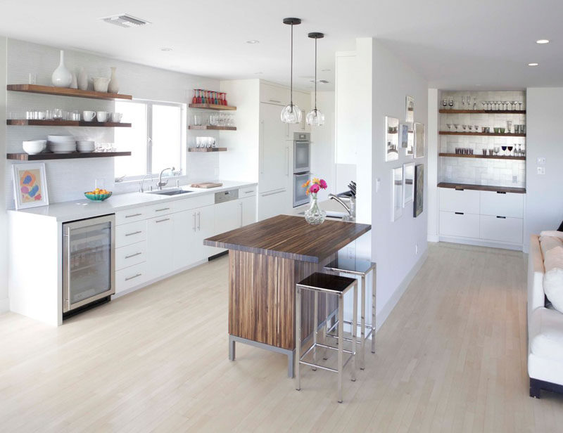 Kitchen Design Idea 19 Examples Of Open Shelving Contemporist