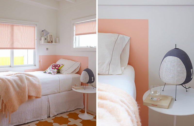Easy And Affordable Bedroom Design Idea - Paint Your Headboard Directly On The Wall