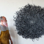 American Sculptor John Bisbee Makes His Pieces Out Of Steel Nails
