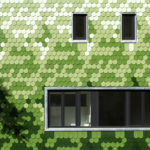 House Siding Idea – Green And White Shingles Cover This Building In Berlin
