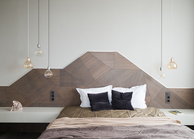 Headboard Design Idea ? Create A Landscape Design From Wood