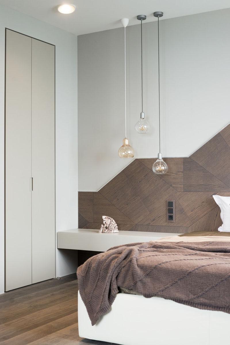 headboard design idea create a landscape design from wood